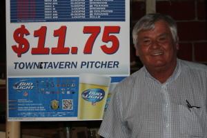 Jerry Rubino, who ran the Towne Tavern for 38 years.