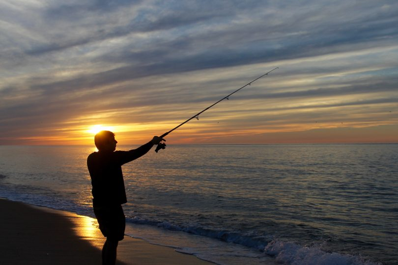 Race Point Sunset Fishing