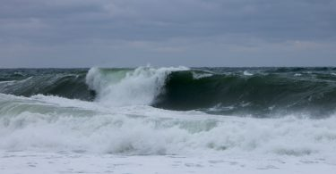 Ballston Beach waves