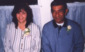 Shirley and Melvin Reine in 1999.