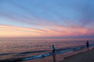 Race Point Sunset Fishing