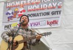 Luke Vose at Homeless For The Holidays, Falmouth