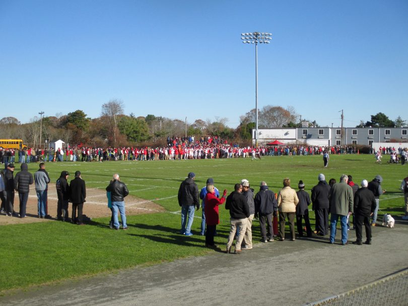 Falmouth/Barnstable Thanksgiving game