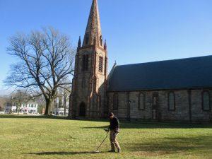 Church Metal Detecting