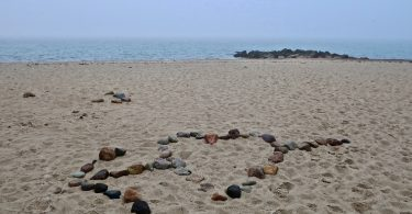 Love Rocks & Fog At Town Neck Beach