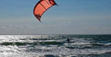 Windsurfer Chapoquoit Beach