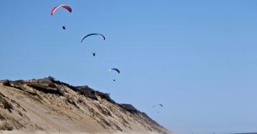 Kiteboarder at Whitecrest Beach